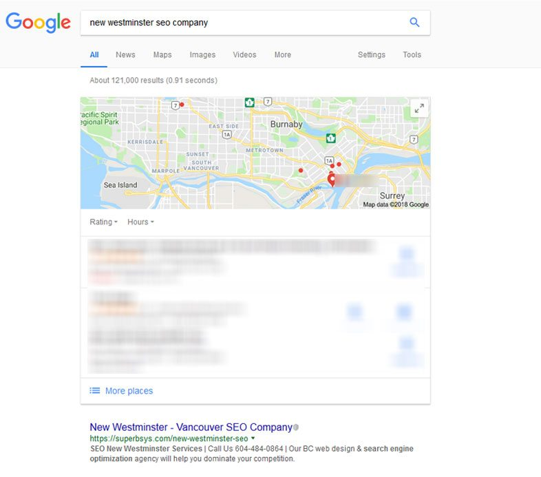 New Westminster SEO Company