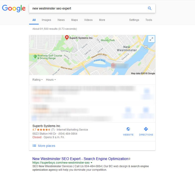 New Westminster SEO Experts