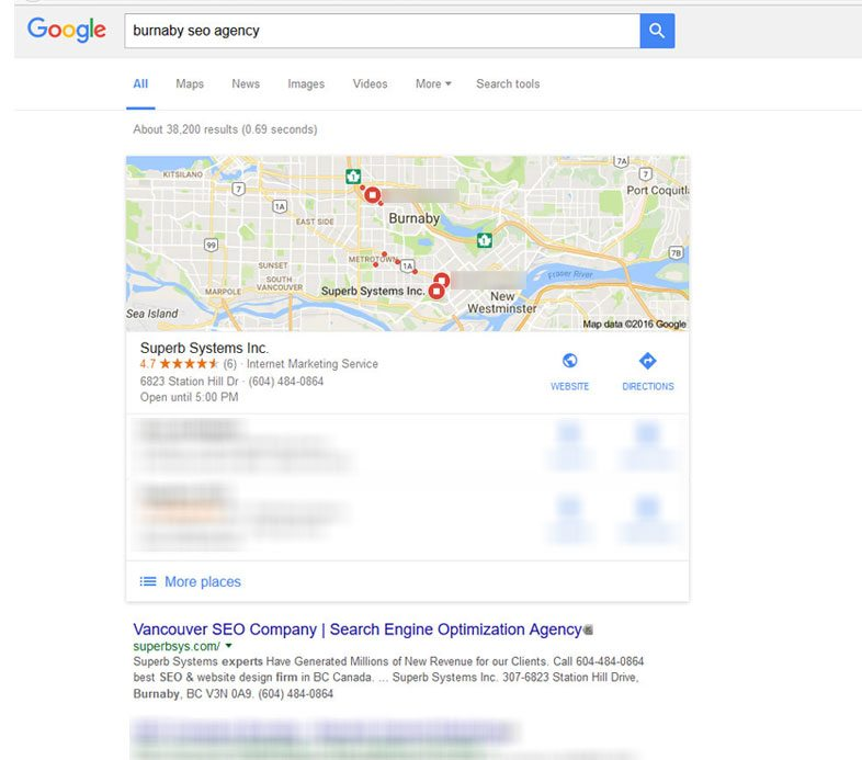 Burnaby SEO agency